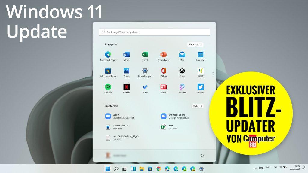 Blitz-Updater für Windows 11