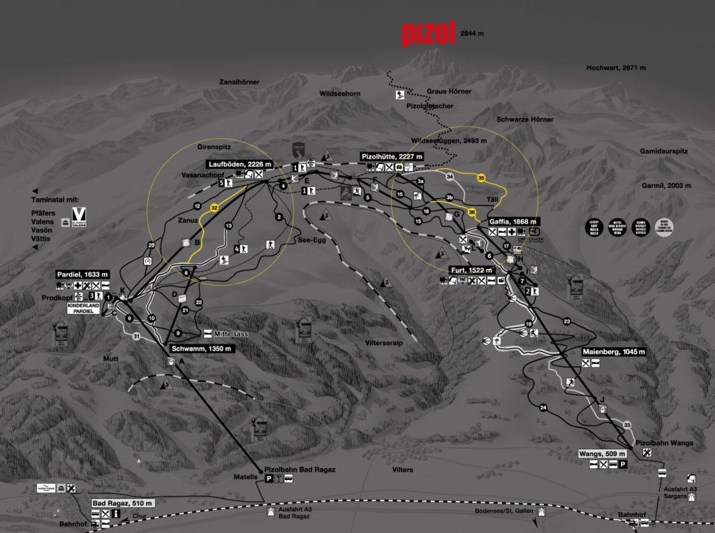Three new slopes in BIZOL from Winter 2021/2022