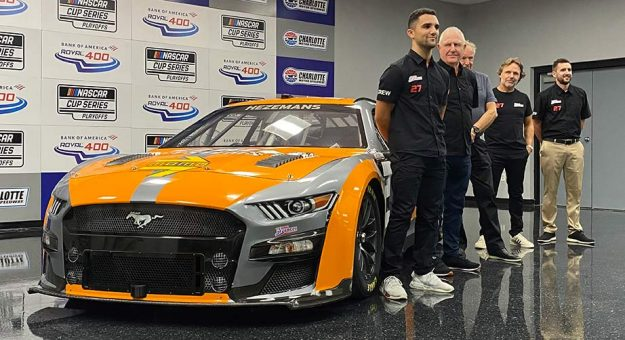 Team Hezeberg launched a partial effort in the 2022 Cup Series