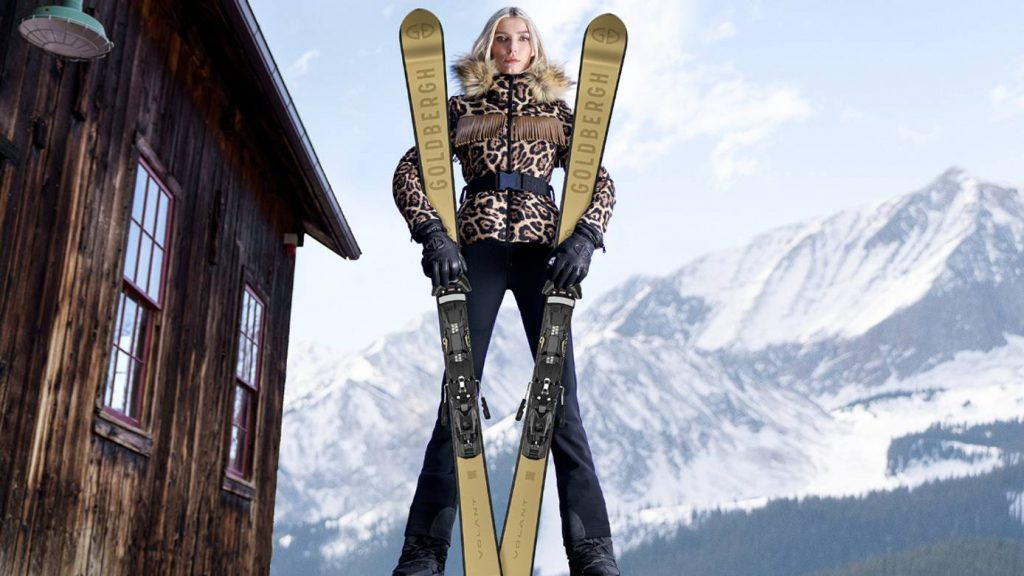 Goldbergh partners with Valance Skis
