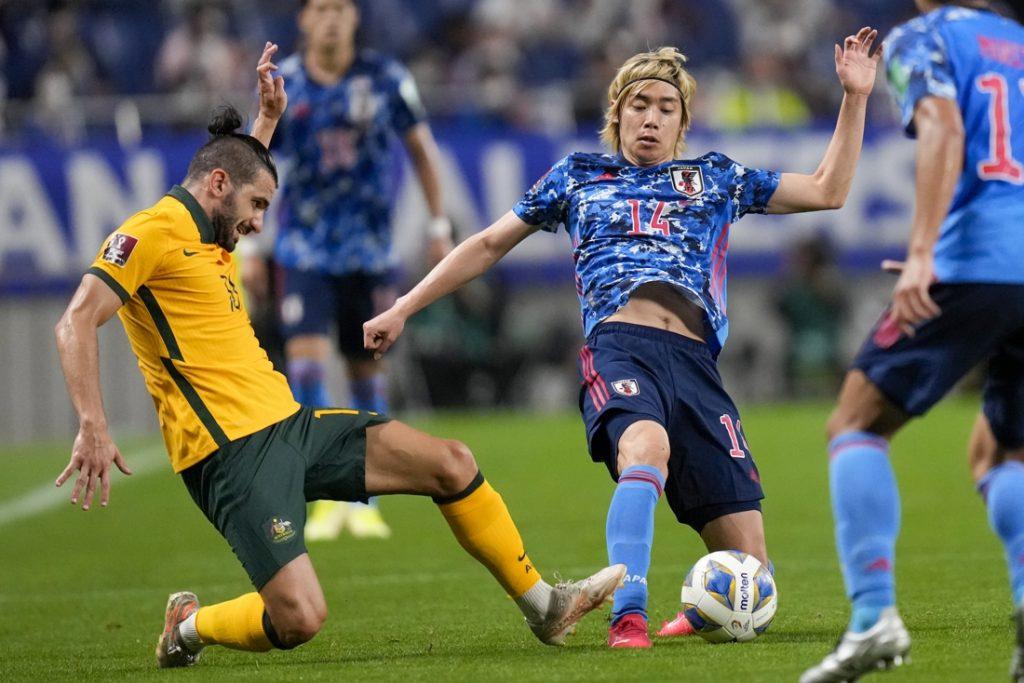 Japan ends Australian record streak with late win