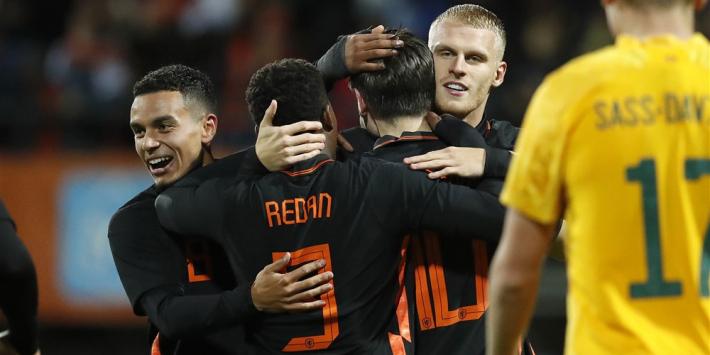 Jong Oranje herstelt zich van remise en blijft in spoor Zwitsers