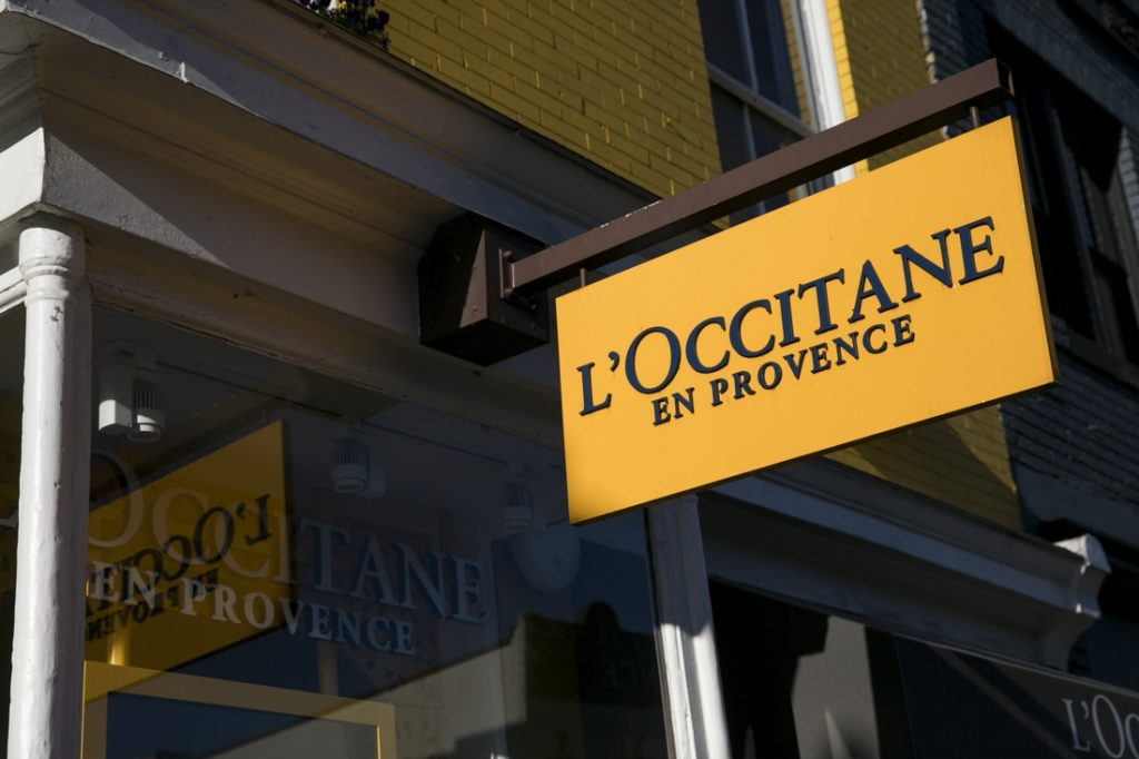 Cosmetic brand L'Occitane files for bankruptcy in the United States...
