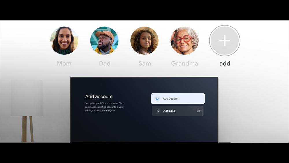 Google TV finally gets user profiles