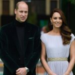 Celebrities march to receive the Prince William Earthshot Award