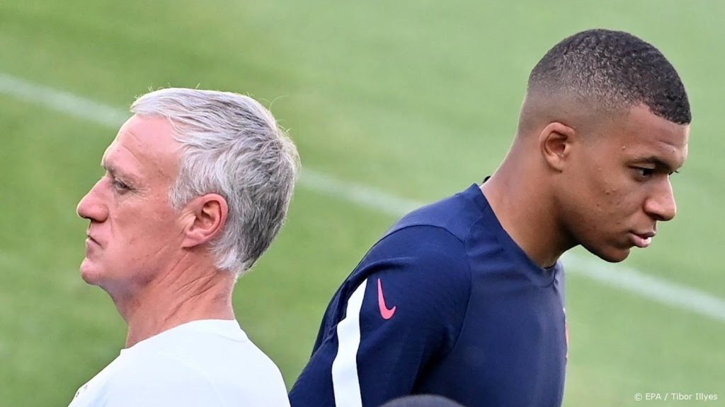 France coach Deschamps is silent on Mbappe's accusations