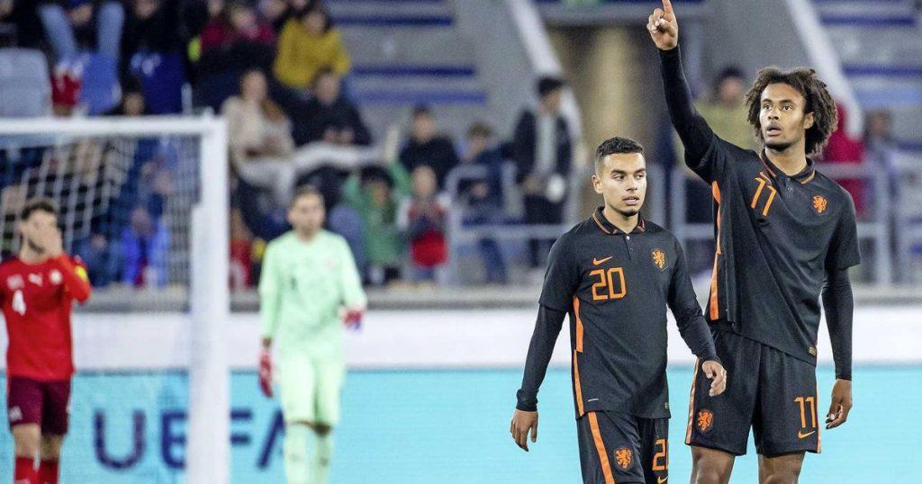 Joshua Zirkzee saves Dutch Juniors in Switzerland    football