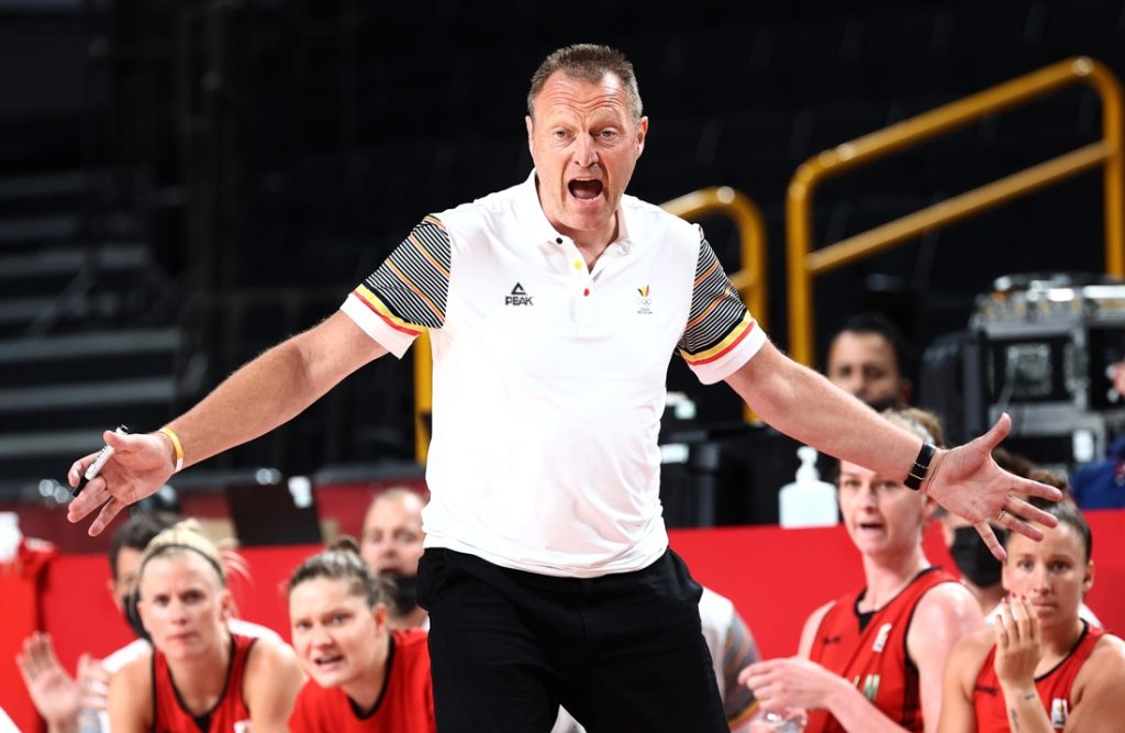 Philippe Estdagh stopped as national coach of the Belgian cats