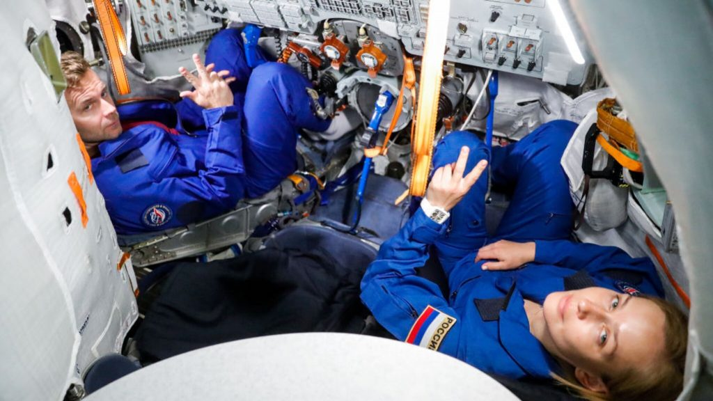 The Russians to shoot a feature film on the International Space Station ISS