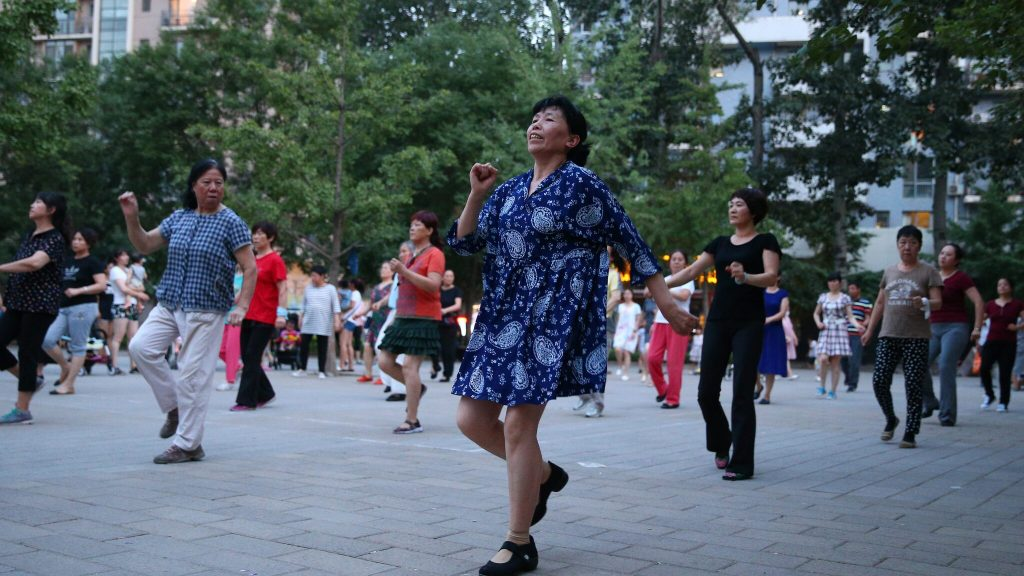The remote control must silence the dancing grandmothers of China