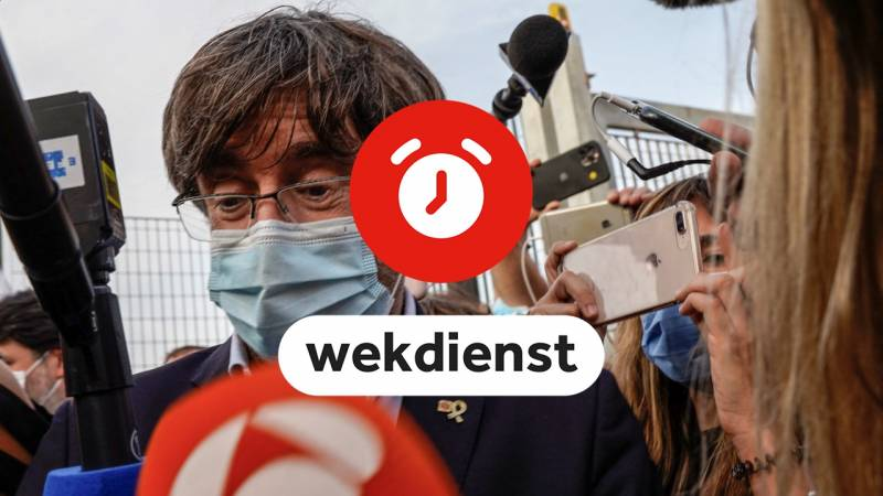 Wake-up call 4/10: Puigdemont before Italian judge • EMA rules on booster shot PfizerBioNTech